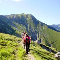 Il gran trekking dei Monti Sibillini