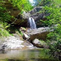 L'anello delle cascate di Selva Grande (Monti della Laga)