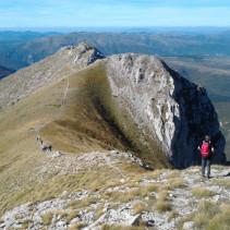 Sibillini dolomitici: l'anello del Monte Bove