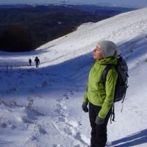 Domenica scorsa: da Campi di Norcia a Monte Patino