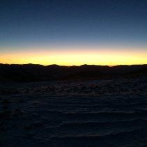 Ciaspolata dal tramonto al buio sulle orme del lupo