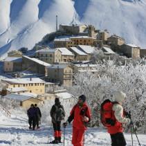 Ciaspolata nei dintorni di Castelluccio: da Monte Veletta a Valle Canatra