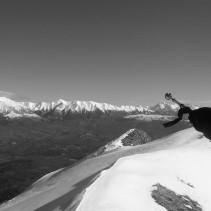 In cima al Monte Pizzuto