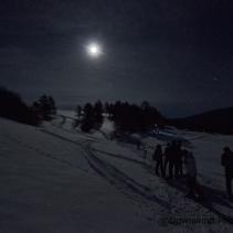 Ciaspolata notturna (serale) sui colli di Castelluccio di Norcia