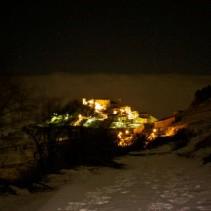 Sabato scorso: ciaspolata serale con neve fresca e tante risate!!