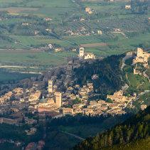 Assisi ed il suo monte Subasio