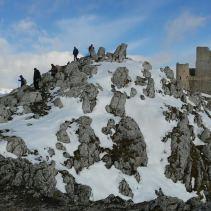 Domenica scorsa una ciaspolata d'altri tempi in terra d'Abruzzo!