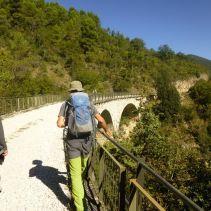 Il tratto più spettacolare della ex ferrovia Spoleto Norcia e…fino al centro di Spoleto!!