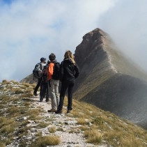 Monte Sibilla: la spettacolare traversata dal versante Castelluccio!