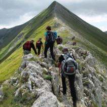 L'anello est per la cima del Monte Vettore, il più spettacolare!