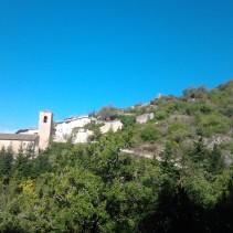 La favolosa valle Castoriana e l'antichissima abbazia di S.Eutizio