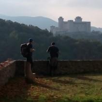La passeggiatona di ieri sulla ferrovia Spoleto – Norcia