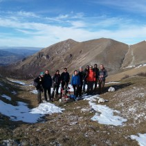 La splendida traversata di ieri: i Pre-Sibillini fino a Castelluccio di Norcia