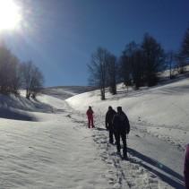 Ciaspolata sulla montagna trevana: dai boschi ovattati al panorama straordinario!