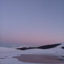 La ciaspolata di sabato 19 marzo tra il tramonto e la luna dei Sibillini