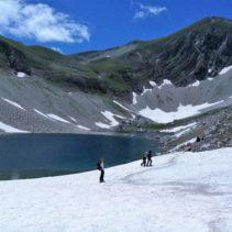 Lago di Pilato dal versante Castelluccio: il diamante dei Sibillini!