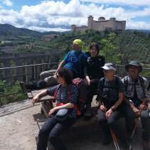 La spettacolare escursione tra la ferrovia e il monte Luco fino al centro di Spoleto