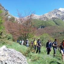 Domenica scorsa un vero spettacolo sui Monti della Laga!