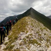 La grandiosa escursione di ieri sul versante Est del Vettore!
