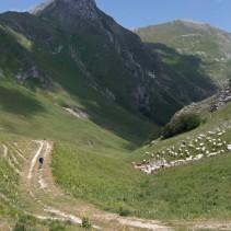 Il favoloso trekking sull'anello dei Sibillini della settimana scorsa