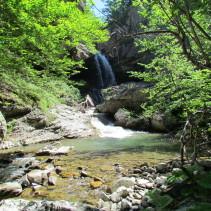Tra le più belle cascate dei Monti della Laga: Volpara e Prata!