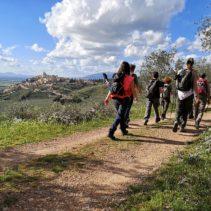 La via francigena di San Francesco da Spoleto ad Assisi