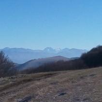 Escursione sul Monte Serano (18.12.16)