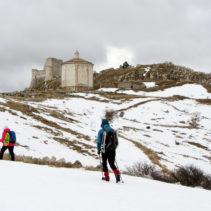 La ciaspolata da Santo Stefano di Sessanio a Rocca Calascio